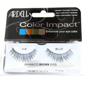 Ardell Color Impact Eyelashes Blue Black